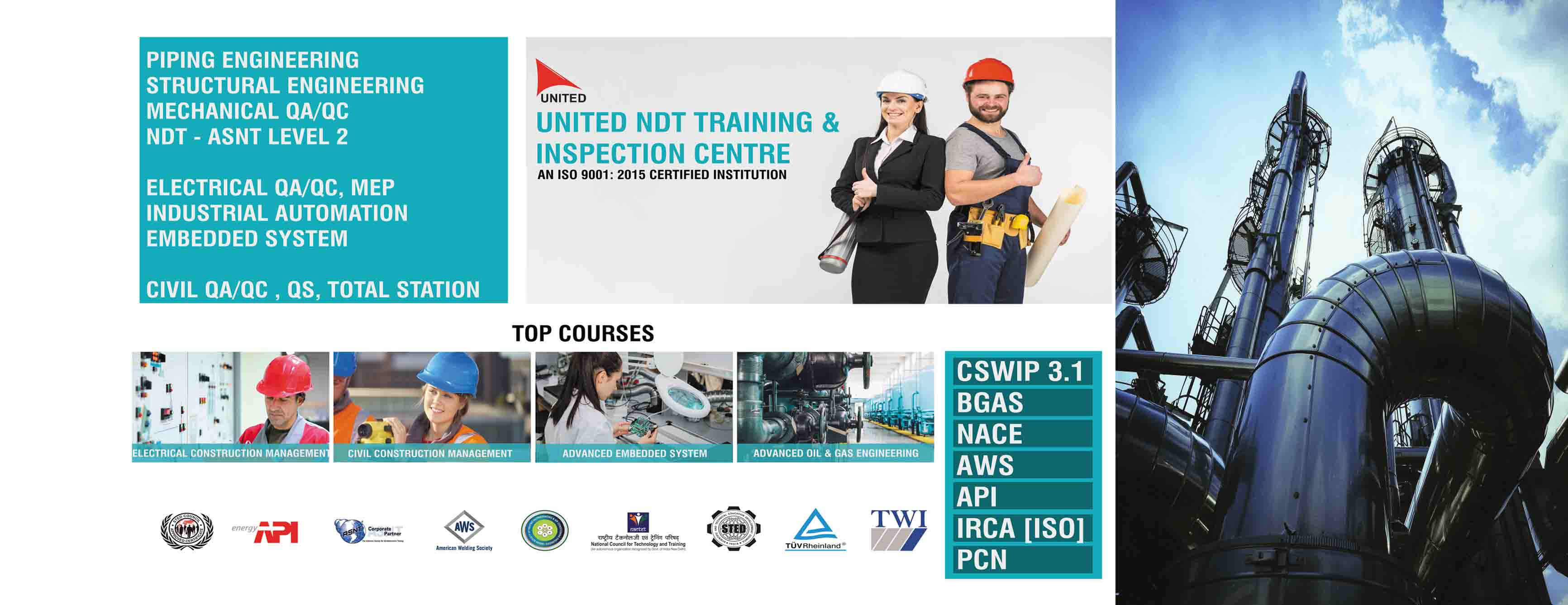 oil and gas training courses in india
